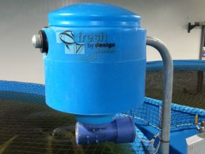 Arvotec Feeder with 20L Hoppers applied to each tank