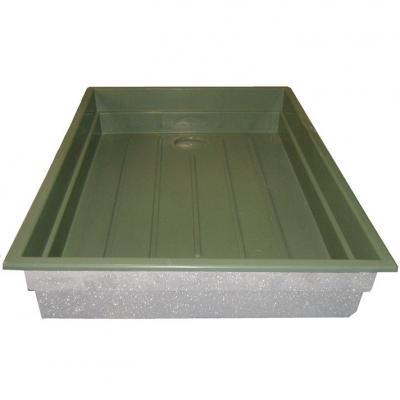 Aquaponics grow bed fibreglass for Aquaponics grow bed